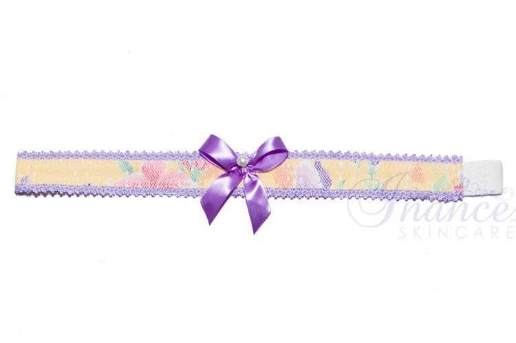 Inance Perfect Wife Choker - Purple/Yellow