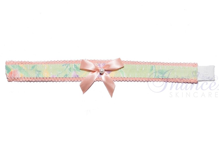 Inance Perfect Wife Choker - Green/Peach