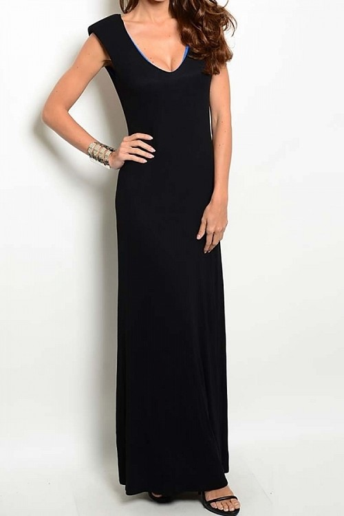 Smazy by Inance Open Back Maxi Dress