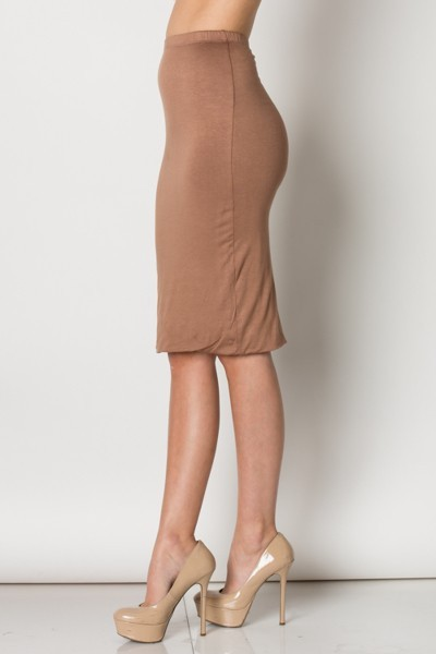 Made In The USA- Inance Fitted Pencil Skirt Dress- Comes in 2 Colors