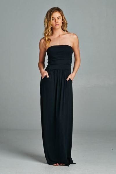 Inance Plus Size Full Length Maxi Dress