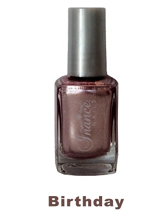 Inance Skincare Dynamic Chip Resistant Long Lasting Nail Polish, 5 Free of Chemicals, Birthday