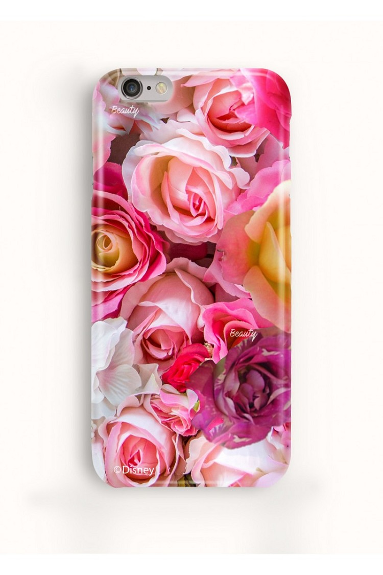 "Disney + Sugarbird Designs Exclusive for Inance Beauty and the Beast ""Pink Rose"" IPhone 6/6S Phone Case"