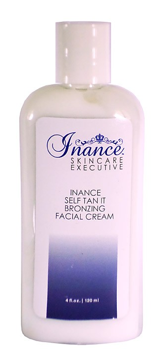 Inance Executive Self Tan It Bronzing Facial Cream With Retinol