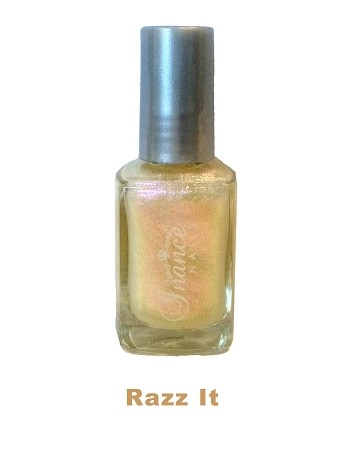 Inance Skincare Dynamic Chip Resistant Long Lasting Nail Polish, 5 Chemical Free, Razz It