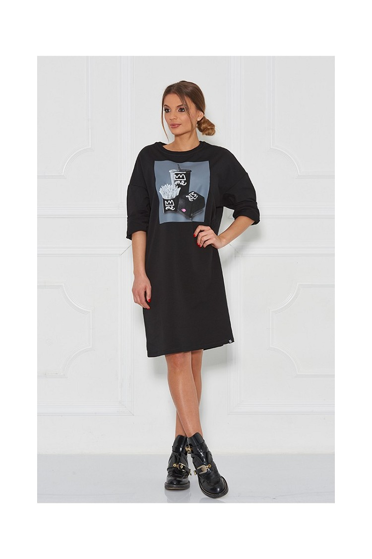 "Sugarbird Designs Exclusive for Inance ""Join Me For Lunch"" Tunic Dress"