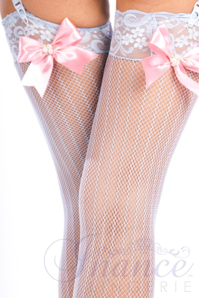 Inance Palm Beach Fancy Marilyns Stockings - White